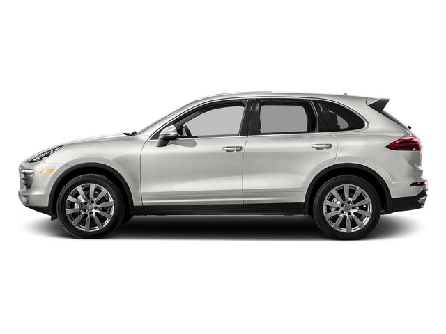 White 2017 Porsche Cayenne Pictures Cayenne S AWD photos side view
