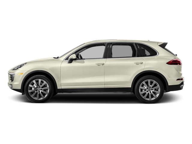 Carrara White Metallic 2017 Porsche Cayenne Pictures Cayenne S AWD photos side view