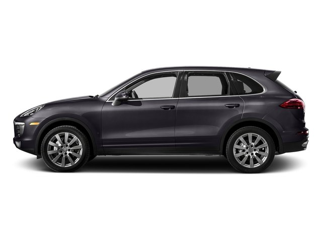 Purpurite Metallic 2017 Porsche Cayenne Pictures Cayenne S AWD photos side view