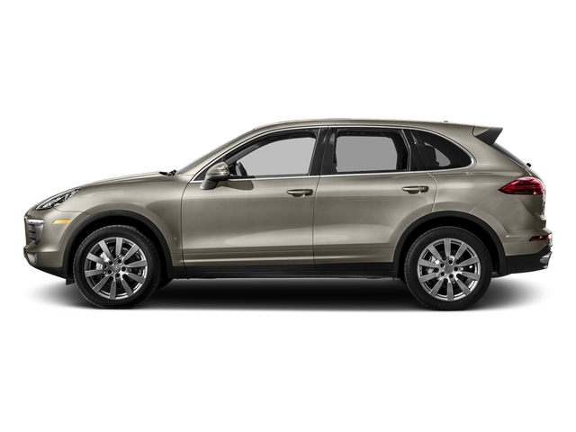 Palladium Metallic 2017 Porsche Cayenne Pictures Cayenne S AWD photos side view