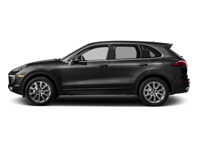 Black 2017 Porsche Cayenne Pictures Cayenne S AWD photos side view
