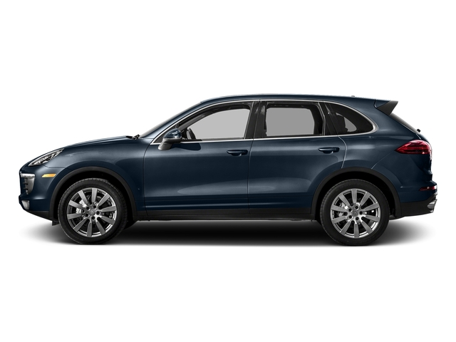 Moonlight Blue Metallic 2017 Porsche Cayenne Pictures Cayenne S AWD photos side view