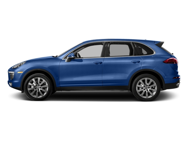 Sapphire Blue Metallic 2017 Porsche Cayenne Pictures Cayenne S AWD photos side view