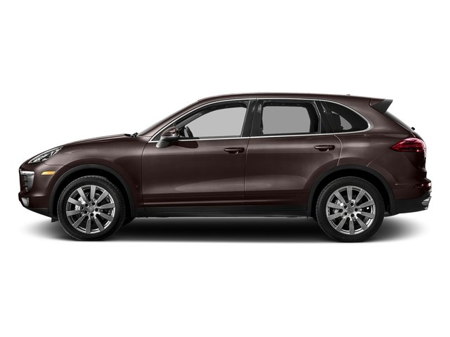 Mahogany Metallic 2017 Porsche Cayenne Pictures Cayenne S AWD photos side view