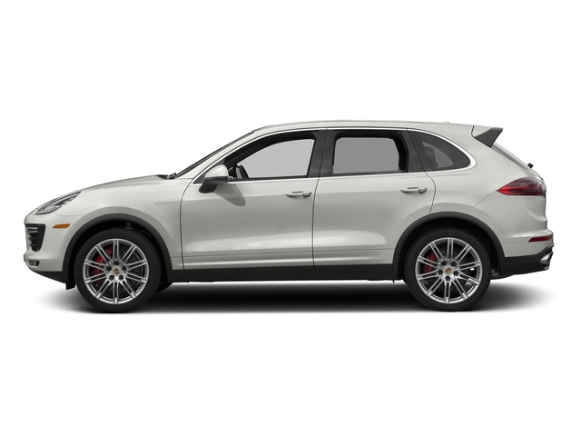 White 2017 Porsche Cayenne Pictures Cayenne Utility 4D AWD V8 Turbo photos side view
