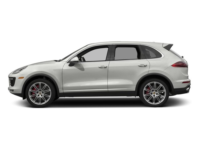 White 2017 Porsche Cayenne Pictures Cayenne Turbo AWD photos side view