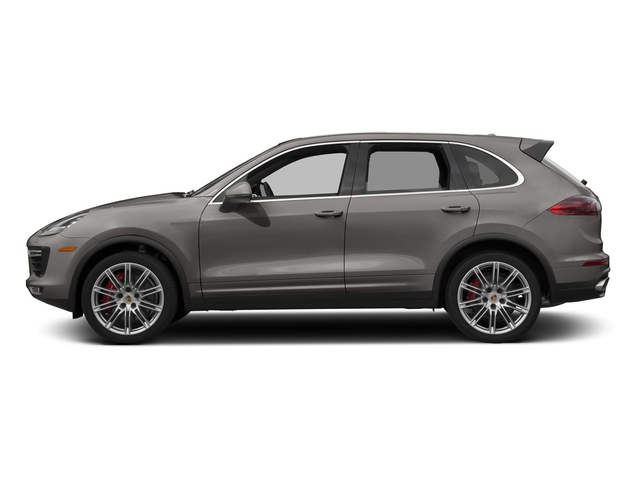 Meteor Grey Metallic 2017 Porsche Cayenne Pictures Cayenne Utility 4D AWD V8 Turbo photos side view