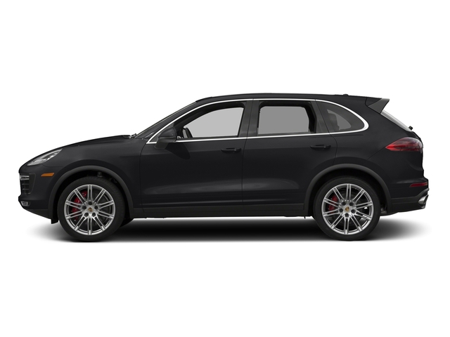 Black 2017 Porsche Cayenne Pictures Cayenne Utility 4D AWD V8 Turbo photos side view