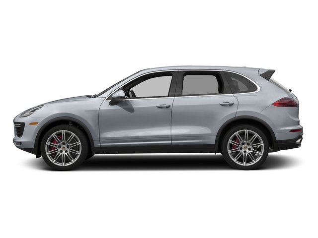 Rhodium Silver Metallic 2017 Porsche Cayenne Pictures Cayenne Utility 4D S AWD V8 Turbo photos side view