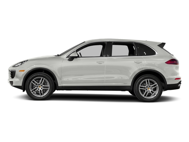 White 2017 Porsche Cayenne Pictures Cayenne Utility 4D AWD V6 photos side view