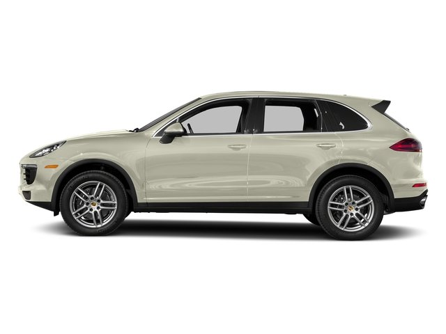Carrara White Metallic 2017 Porsche Cayenne Pictures Cayenne AWD photos side view