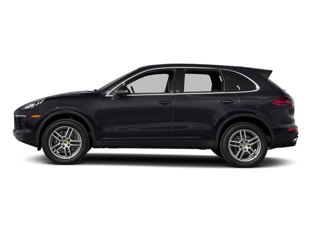 Purpurite Metallic 2017 Porsche Cayenne Pictures Cayenne AWD photos side view