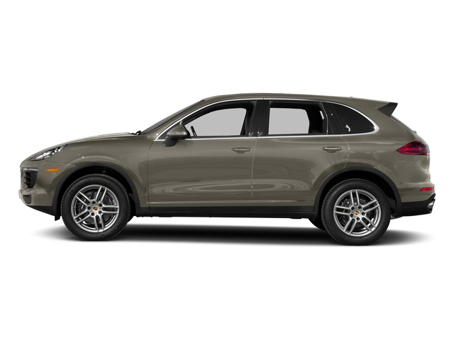 Palladium Metallic 2017 Porsche Cayenne Pictures Cayenne AWD photos side view