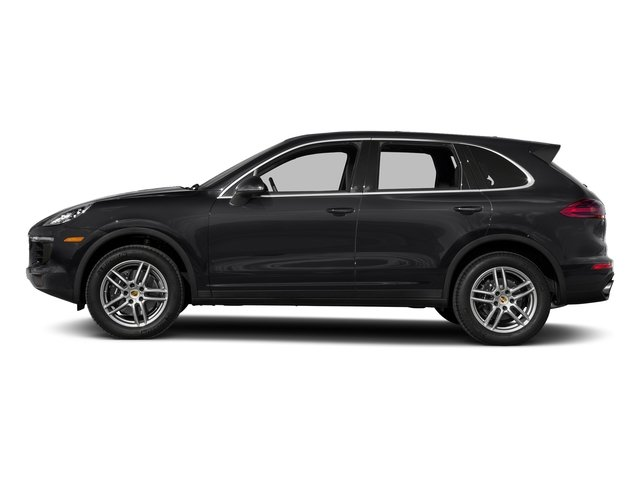 Black 2017 Porsche Cayenne Pictures Cayenne AWD photos side view