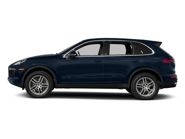 Moonlight Blue Metallic 2017 Porsche Cayenne Pictures Cayenne Utility 4D AWD V6 photos side view