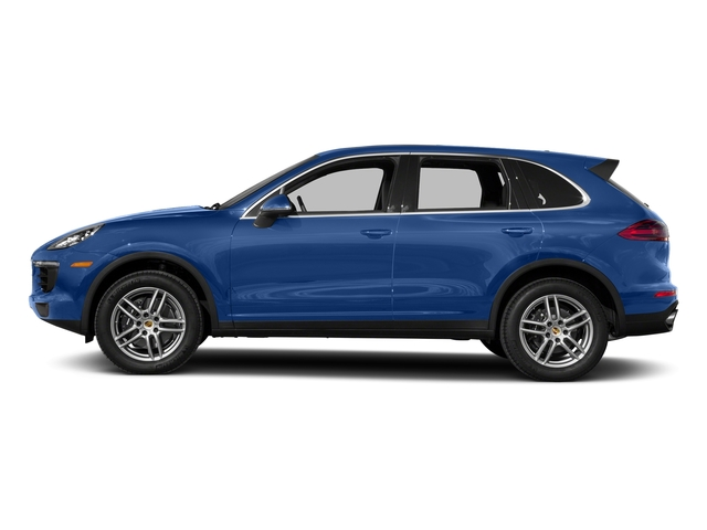 Sapphire Blue Metallic 2017 Porsche Cayenne Pictures Cayenne AWD photos side view