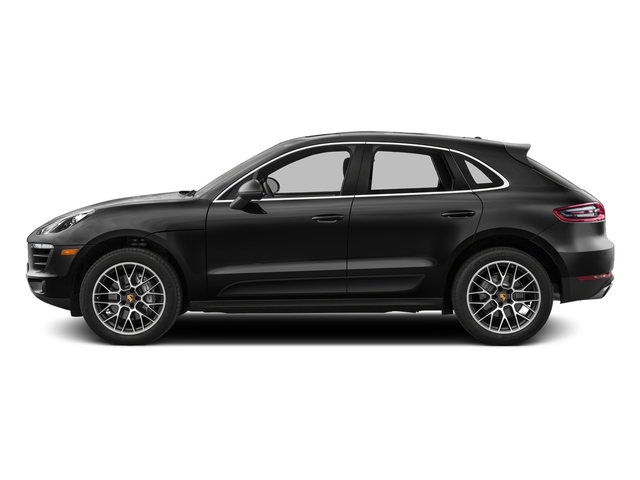 Custom Color Non-Metallic 2017 Porsche Macan Pictures Macan Utility 4D S AWD V6 Turbo photos side view