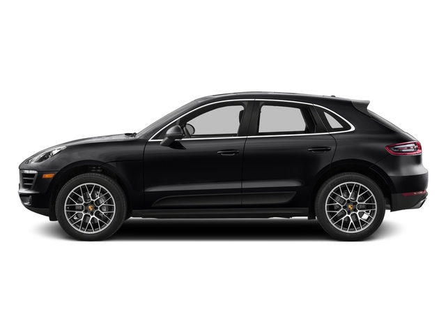 Black 2017 Porsche Macan Pictures Macan Utility 4D Performance AWD V6 Turbo photos side view