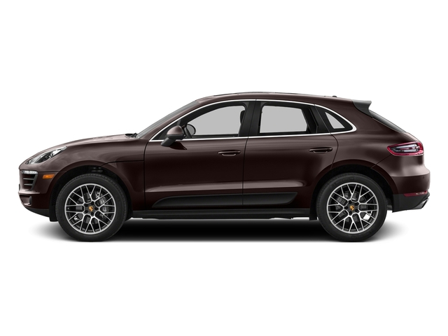 Mahogany Metallic 2017 Porsche Macan Pictures Macan Utility 4D S AWD V6 Turbo photos side view