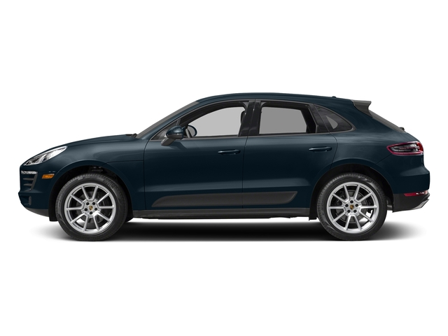 Night Blue Metallic 2017 Porsche Macan Pictures Macan Utility 4D AWD I4 Turbo photos side view