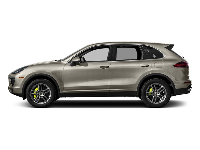 Palladium Metallic 2017 Porsche Cayenne Pictures Cayenne S E-Hybrid AWD photos side view