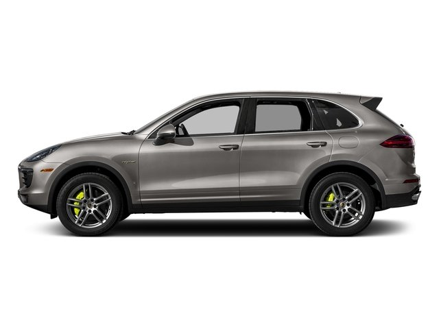 Meteor Grey Metallic 2017 Porsche Cayenne Pictures Cayenne Utility 4D S V6 e-Hybrid AWD photos side view