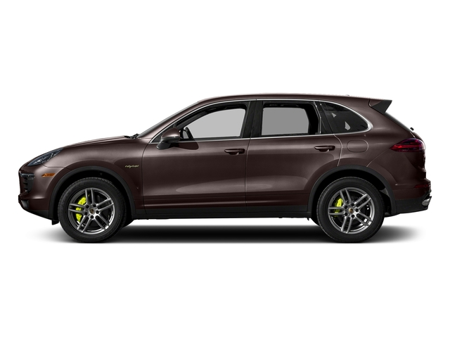 Mahogany Metallic 2017 Porsche Cayenne Pictures Cayenne S E-Hybrid AWD photos side view