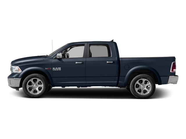 True Blue Pearlcoat 2017 Ram Truck 1500 Pictures 1500 Laramie 4x4 Crew Cab 6'4 Box photos side view