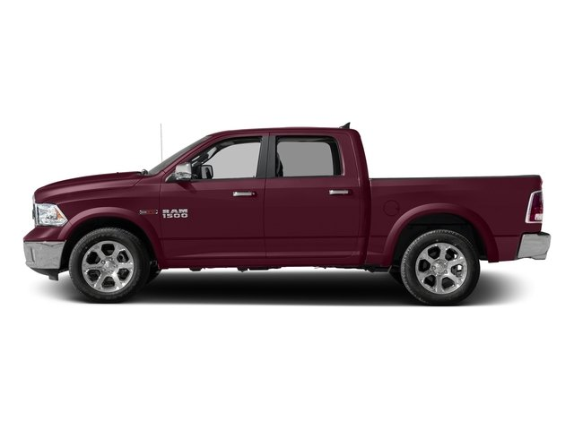Delmonico Red Pearlcoat 2017 Ram Truck 1500 Pictures 1500 Crew Cab Laramie 4WD photos side view