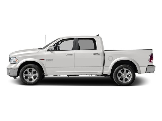 Bright Silver Metallic Clearcoat 2017 Ram Truck 1500 Pictures 1500 Laramie 4x4 Crew Cab 6'4 Box photos side view