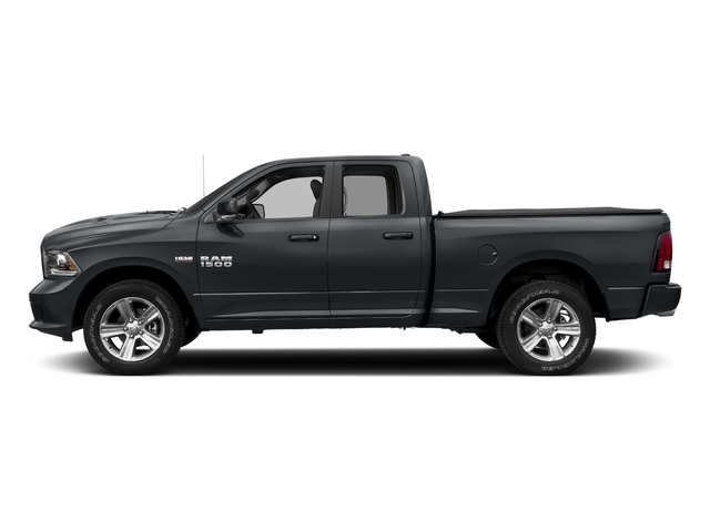 Maximum Steel Metallic Clearcoat 2017 Ram Truck 1500 Pictures 1500 Night 4x2 Quad Cab 6'4 Box photos side view