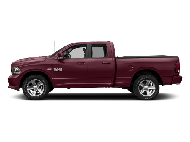 Delmonico Red Pearlcoat 2017 Ram Truck 1500 Pictures 1500 Night 4x2 Quad Cab 6'4 Box photos side view