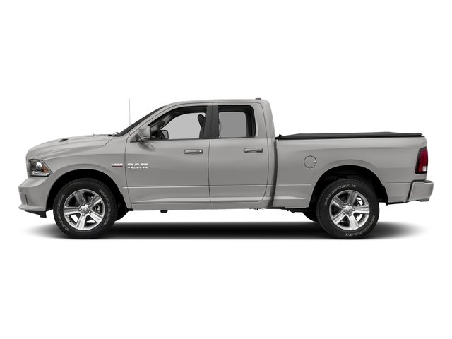 Bright Silver Metallic Clearcoat 2017 Ram Truck 1500 Pictures 1500 Quad Cab Sport 2WD photos side view