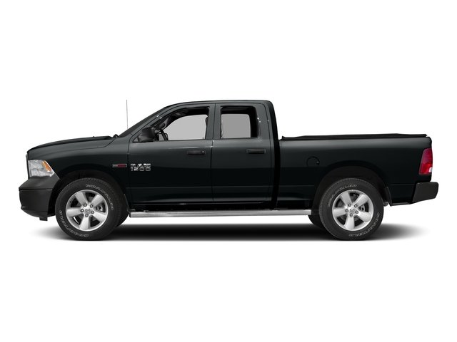 Maximum Steel Metallic Clearcoat 2017 Ram Truck 1500 Pictures 1500 Quad Cab HFE 2WD V6 T-Diesel photos side view