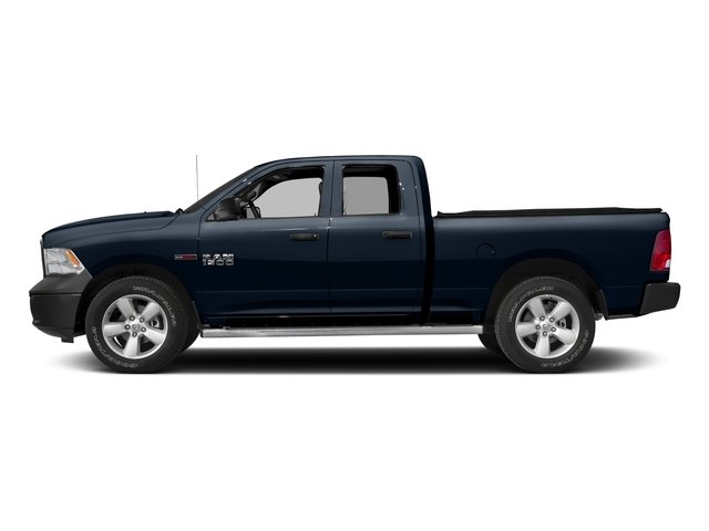 True Blue Pearlcoat 2017 Ram Truck 1500 Pictures 1500 Quad Cab HFE 2WD V6 T-Diesel photos side view