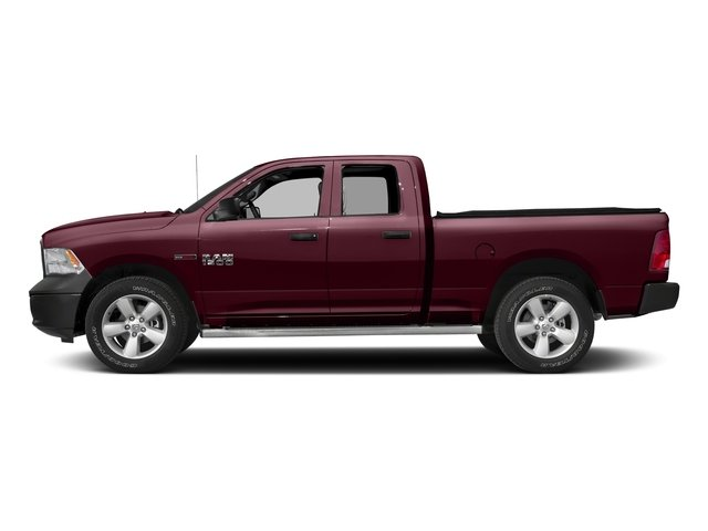 Delmonico Red Pearlcoat 2017 Ram Truck 1500 Pictures 1500 HFE 4x2 Quad Cab 6'4 Box photos side view