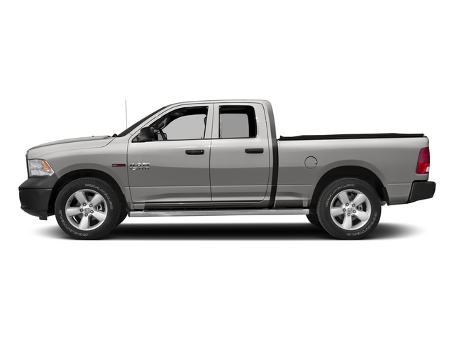 Bright Silver Metallic Clearcoat 2017 Ram Truck 1500 Pictures 1500 Quad Cab HFE 2WD V6 T-Diesel photos side view