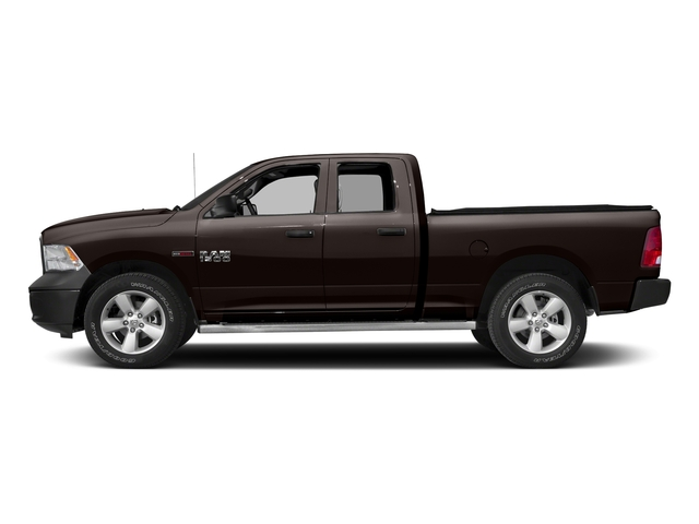 Luxury Brown Pearlcoat 2017 Ram Truck 1500 Pictures 1500 Quad Cab HFE 2WD V6 T-Diesel photos side view