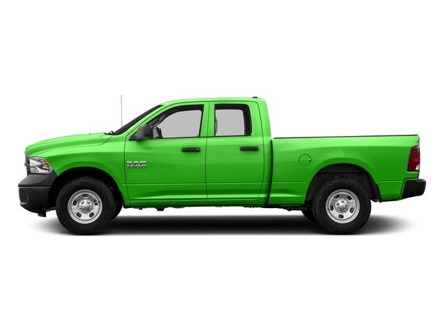 Hills Green 2017 Ram Truck 1500 Pictures 1500 Quad Cab Tradesman 2WD photos side view
