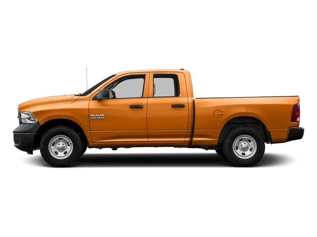 Omaha Orange 2017 Ram Truck 1500 Pictures 1500 Quad Cab Express 4WD photos side view