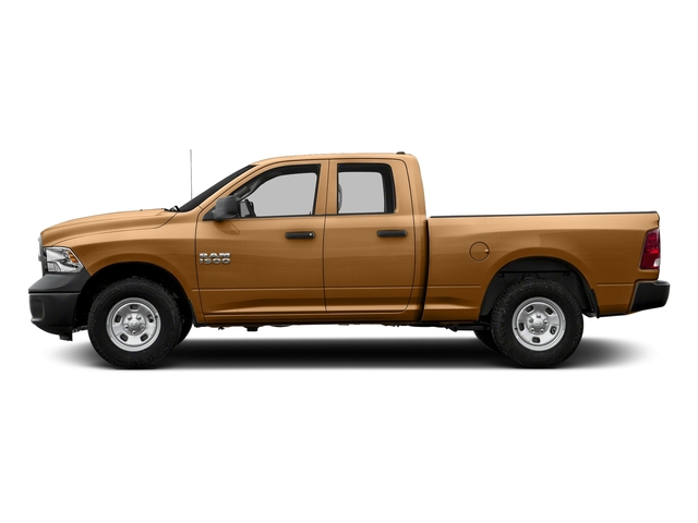 Power Tan 2017 Ram Truck 1500 Pictures 1500 Express 4x2 Quad Cab 6'4 Box photos side view