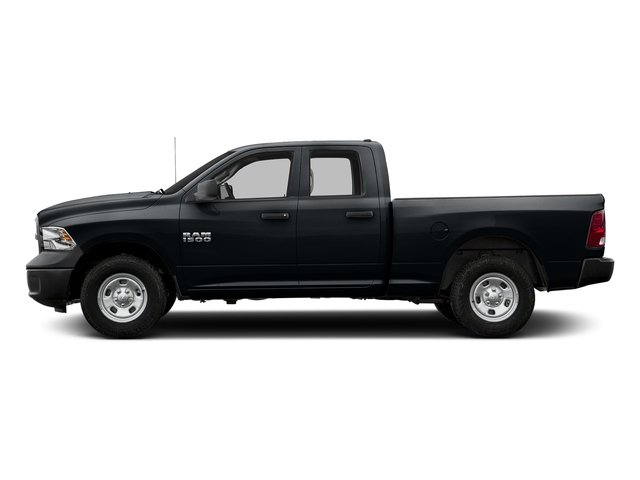 Maximum Steel Metallic Clearcoat 2017 Ram Truck 1500 Pictures 1500 Quad Cab Tradesman 2WD photos side view