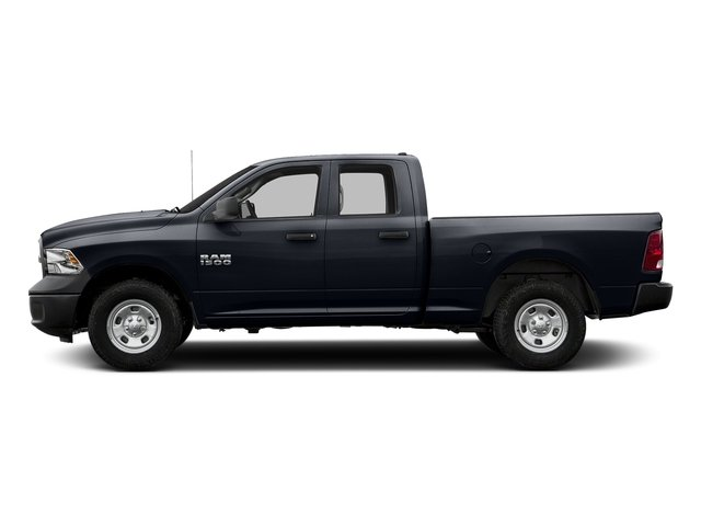 Midnight Blue Pearlcoat 2017 Ram Truck 1500 Pictures 1500 Quad Cab Tradesman 2WD photos side view