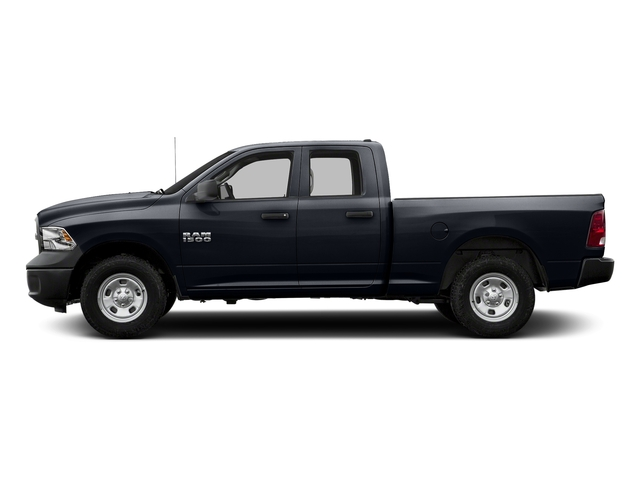 Midnight Blue Pearlcoat 2017 Ram Truck 1500 Pictures 1500 Express 4x2 Quad Cab 6'4 Box photos side view