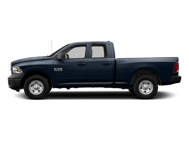 True Blue Pearlcoat 2017 Ram Truck 1500 Pictures 1500 Quad Cab Tradesman 2WD photos side view