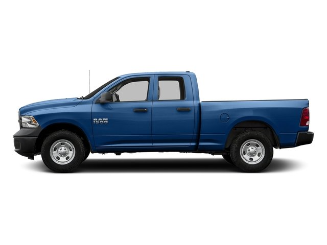 Blue Streak Pearlcoat 2017 Ram Truck 1500 Pictures 1500 Quad Cab Express 2WD photos side view