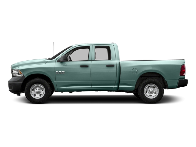 Light Green 2017 Ram Truck 1500 Pictures 1500 Express 4x2 Quad Cab 6'4 Box photos side view