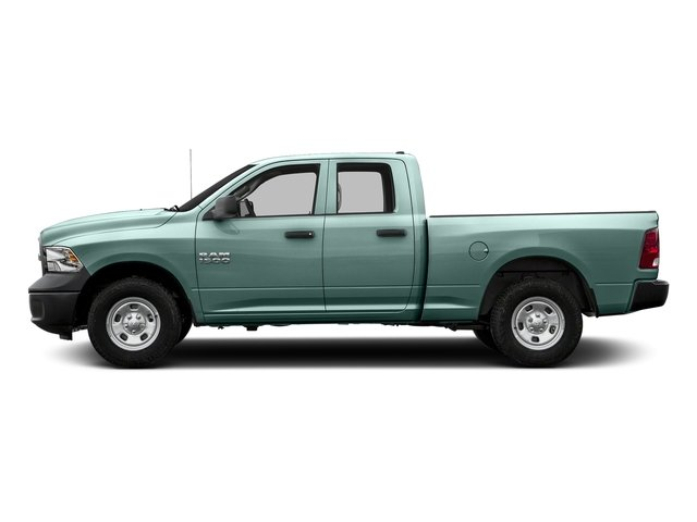 Light Green 2017 Ram Truck 1500 Pictures 1500 Quad Cab Express 2WD photos side view