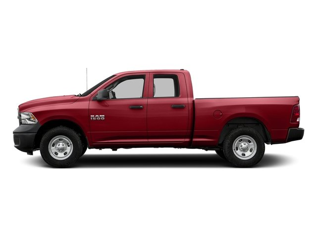 Flame Red Clearcoat 2017 Ram Truck 1500 Pictures 1500 Express 4x2 Quad Cab 6'4 Box photos side view