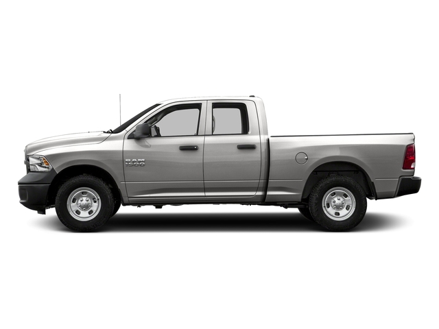 Bright Silver Metallic Clearcoat 2017 Ram Truck 1500 Pictures 1500 Quad Cab Tradesman 2WD photos side view